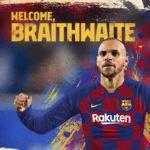 OFICIAL: FC Barcelona paga 18 milhões de euros por Braithwaite