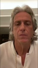 Video: Jorge Jesus revela teste positivo de coronavirus