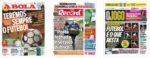 Capas Jornais Desportivos 30-04-2020