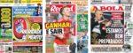Capas Jornais Desportivos 24 Abril 2020