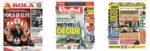 Capas Jornais Desportivos 10-05-2020