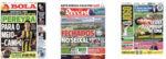 Capas Jornais Desportivos 26-05-2020