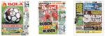 Capas Jornais Desportivos 13-05-2020
