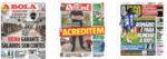 Capas Jornais Desportivos 08-05-2020