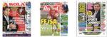 Capas Jornais Desportivos 04-05-2020