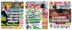 Capas Jornais Desportivos 12-05-2020