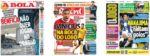 Capas Jornais Desportivos 15-05-2020