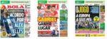 Capas Jornais Desportivos 27-05-2020