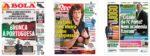 Capas Jornais Desportivos 30-05-2020