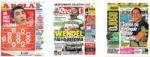 Capas Jornais Desportivos 31-05-2020