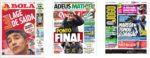Capas Jornais Desportivos 25-06-2020