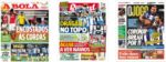 Capas Jornais Desportivos 11-06-2020