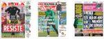 Capas Jornais Desportivos 12-06-2020