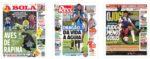 Capas Jornais Desportivos 17-06-2020