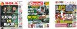 Capas Jornais Desportivos 20-06-2020