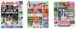Capas Jornais Desportivos 27-07-2020