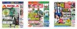 Capas Jornais Desportivos 03-07-2020