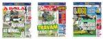 Capas Jornais Desportivos 07-07-2020