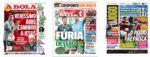 Capas Jornais Desportivos 08-07-2020
