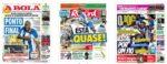 Capas Jornais Desportivos 10-07-2020