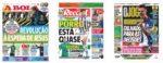 Capas Jornais Desportivos 13-07-2020