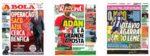 Capas Jornais Desportivos 14-07-2020