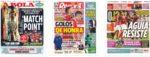 Capas Jornais Desportivos 15-07-2020