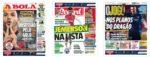 Capas Jornais Desportivos 23-07-2020
