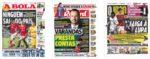 Capas Jornais Desportivos 28-07-2020