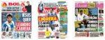 Capas Jornais Desportivos 29-07-2020