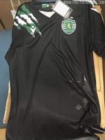 Eis a camisola alternativa do Sporting CP para a próxima época