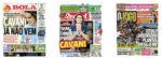 Capas Jornais Desportivos 22-08-2020