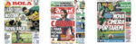 Capas Jornais Desportivos 18-08-2020