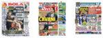 Capas Jornais Desportivos 08-08-2020