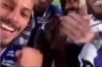 Video: Brahimi entrou em direto na festa e os jogadores reagiram assim