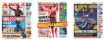 Capas Jornais Desportivos 11-08-2020