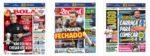 Capas Jornais Desportivos 13-08-2020