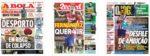 Capas Jornais Desportivos 26-08-2020