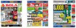 Capas Jornais Desportivos 27-08-2020