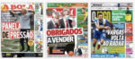 Capas Jornais Desportivos 17-09-2020