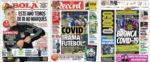 Capas Jornais Desportivos 12-09-2020