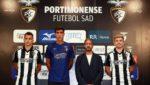 OFICIAL: Portimonense apresenta trio brasileiro