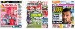 Capas Jornais Desportivos 05-09-2020