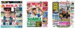 Capas Jornais Desportivos 07-09-2020