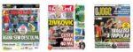 Capas Jornais Desportivos 16-09-2020