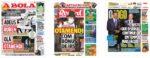 Capas Jornais Desportivos 29-09-2020