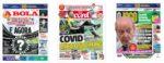 Capas Jornais Desportivos 14-09-2020