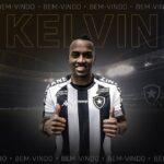 OFICIAL: Kelvin é reforço do Botafogo