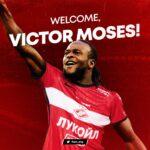 OFICIAL: Victor Moses emprestado ao Spartak Moscovo