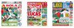 Capas Jornais Desportivos 08-10-2020